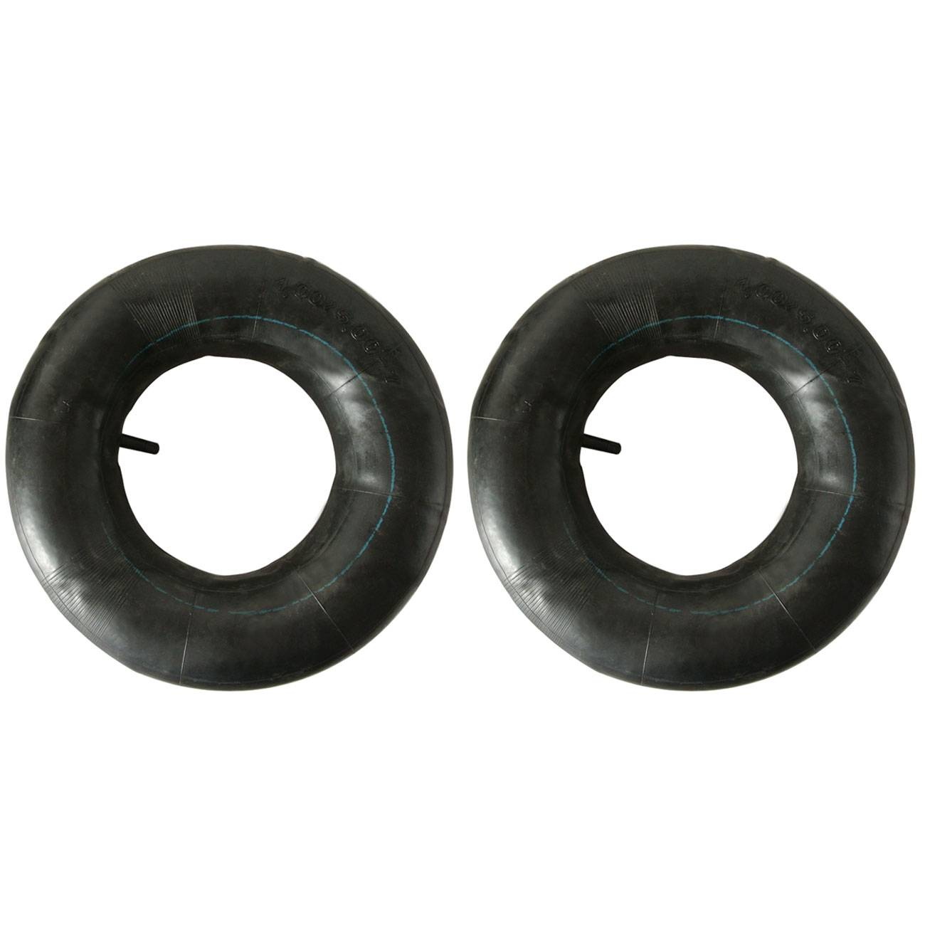 2PC 16 x8.0-7 4.00/5.00-7 Tire Inner Tube Rubber Valve For 7 ATV QUAD GO KART