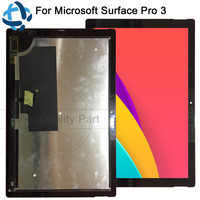 100% tested for Microsoft Surface Pro 3 Tablet LCD Screen Touch Digitizer Display Pro3 (1631) Panel TOM12H20 V1.1 LTL120QL01 003