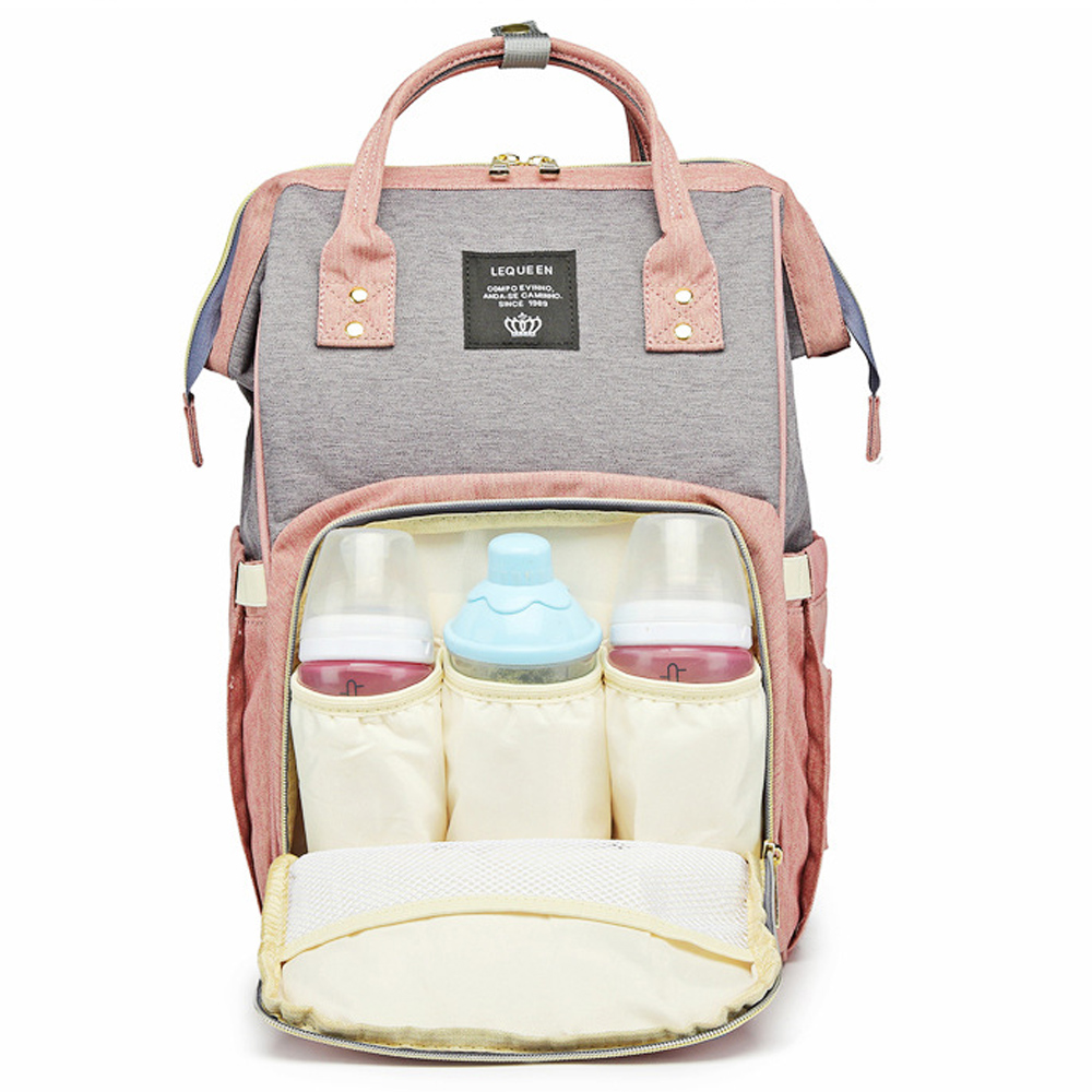 LEQUEEN Multifunction Mummy Maternity Diaper Nappy Bag Baby Nursing Backpack New