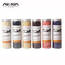 ANGNYA New Hair Remover Wax Beans 6 Flavors Depilatory Wax Bikini Body Available Beauty Care Products Solid Paper Free Hair Wax