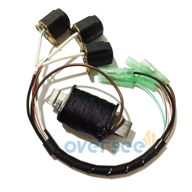 OVERSEE 6H2 85520 10 00 6H2 85580 CHARGE COIL kIT for Yamaha 60HP Outboard Engine