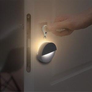 Image 3 - Youpin Philips Bluetooth LED gece ışığı indüksiyon koridor gece lambası kızılötesi uzaktan kumanda vücut sensörü Mi ev APP için