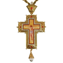 Ортодоксальный крест Папы Римского Иоанна Павла ii русская Греция распятье религиозное икона византийский художественный церковный Крестильный подарок