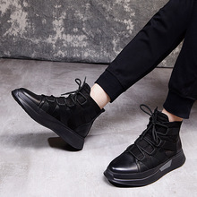 winter warm Fleece New Ultra Hot Sale Ulzzang Men Sneakers Retro White Casual Shoes Zapatos Hombre Adulto casual shoes male
