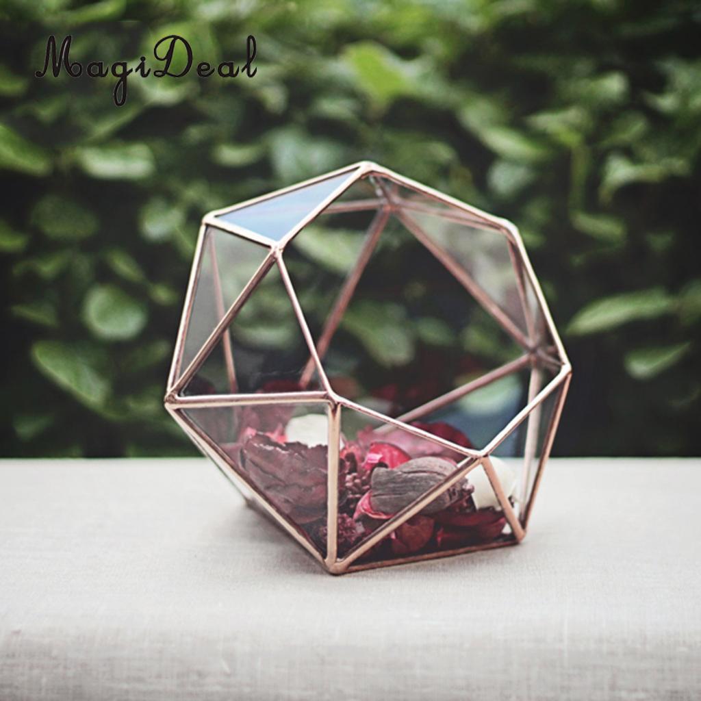 MagiDeal Diamant Form Blumentopf Aufbewahrungsbox für ...