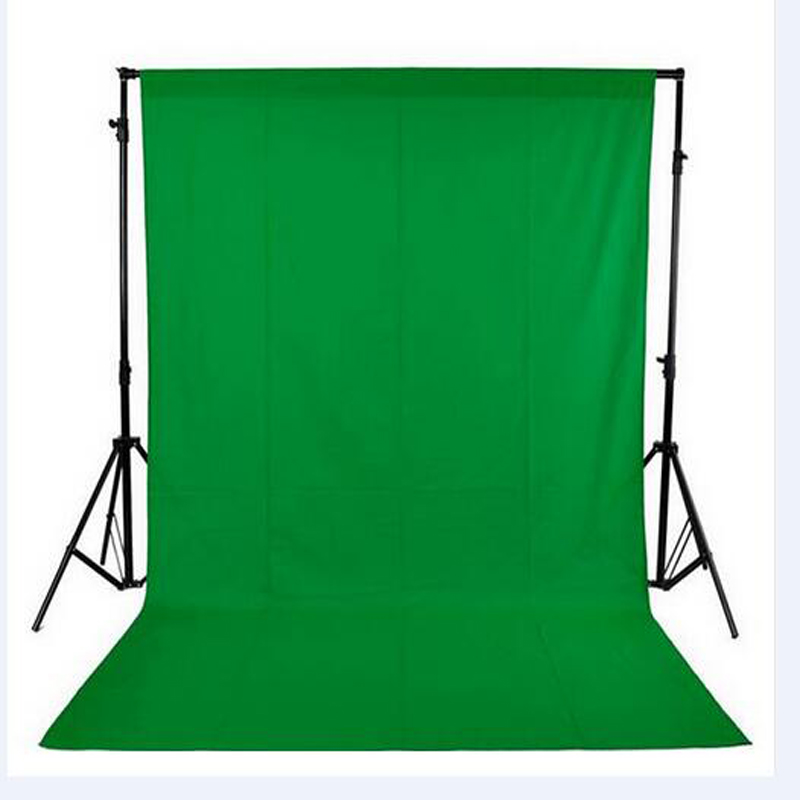 Énorme Taille 2x3 m (7x10FT) 100% Coton Muslin Photo Photo Fond Photographie Décors Studio Vidéo vert écran fond