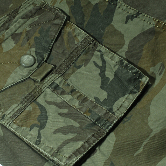 Camouflage Cargo Shorts Men 2018 New Mens Casual Shorts Male Loose Work Shorts Man Military Short Pants Plus Size 29-44 No Belt 5