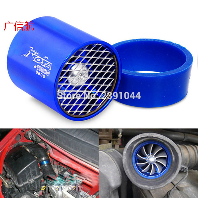 Top Racing Universal Car Fuel Gas Saver Supercharger For Turbine Turbo Charger Air Intake Fan Turbocharger Efficient Enhan