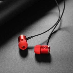Image 5 - HOCO 이어폰 스테레오베이스 이어폰 헤드폰 3.5mm 잭 유선 제어 HiFi 이어폰 헤드셋 아이폰 Xiaomi 휴대 전화