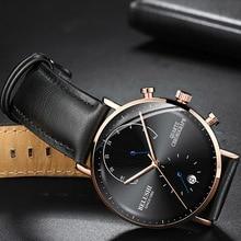 2019 Человек Бизнес наручные часы для мужчин часы хронограф Элитный бренд мужской кварцевые наручные часы мужской часы для мужчин Relogio Masculino
