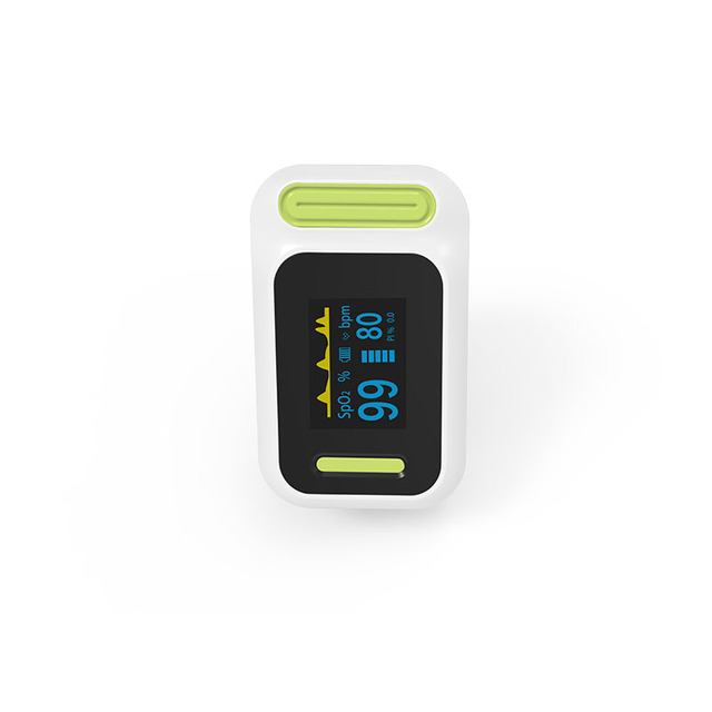 BOXYM Medical digital Finger Pulse Oximeter blood oxygen Heart Rate PI Saturation Monitor OLED CE Portable Oximetro De Pulso 3