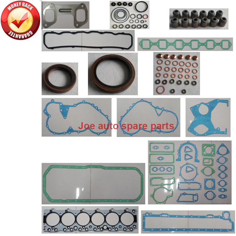 Auto Replacement Parts Gaskets Conscientious Engine Full Gasket Set Kit For Isuzu Engine 6bf1 6130cc Rich And Magnificent
