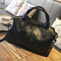 Couro genuíno Top-handle Sacos Bolsas Mulheres Famosas Marcas de Luxo Bolsa de Ombro Sólida Feminino Embreagens Bolsa Com Zíper Saco de Um principal