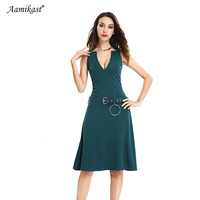 Aamikast mujeres vestidos venta caliente celeb mangas patchwork lápiz vestidos de partido de tarde de negocios tamaño s m l xl xxl xxxl
