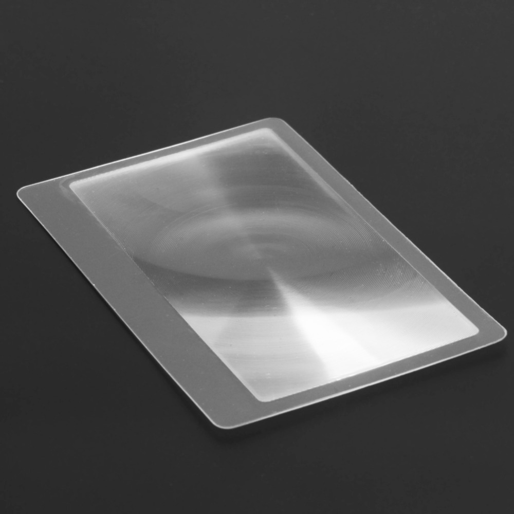 10 PCS 3 X nagyító nagyítással Nagyító Fresnel LENS 8.00 * 5.50 - Mérőműszerek - Fénykép 6
