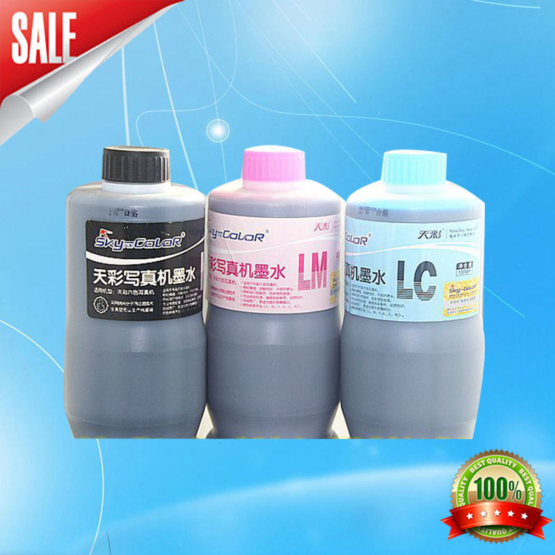 4/6 color water-based ink for 750 inkjet printer 2pcs lot roland sj540 vj640 inkjet printer dx4 dx5 water based ink pump for lage format printer machine parts selling