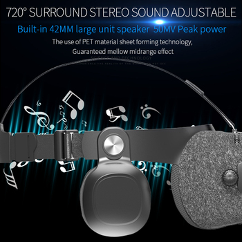 BOBOVR Z4 Update BOBO VR Z5 120 FOV 3D Cardboard Helmet Virtual Reality Glasses Headset Stereo Box for 4.7-6.2' Mobile Phone     2