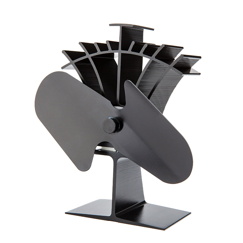 Fast Starting by Low Temp 60C / 140F Heat Powered Stove Top Fan with No Running Cost by health 1220mg 60