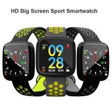 Купить с кэшбэком 2018 New Smart Watch F15 HD Big Screen Heart Rate Blood Pressure Monitor Swim Sports Fitness Tracker Bluetooth Smartwatch IP67