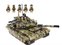 WW2 army series figures tank Building Blocks figures Tank SWAT Compatible Legoing Military world war 2 Bricks Toys for Children