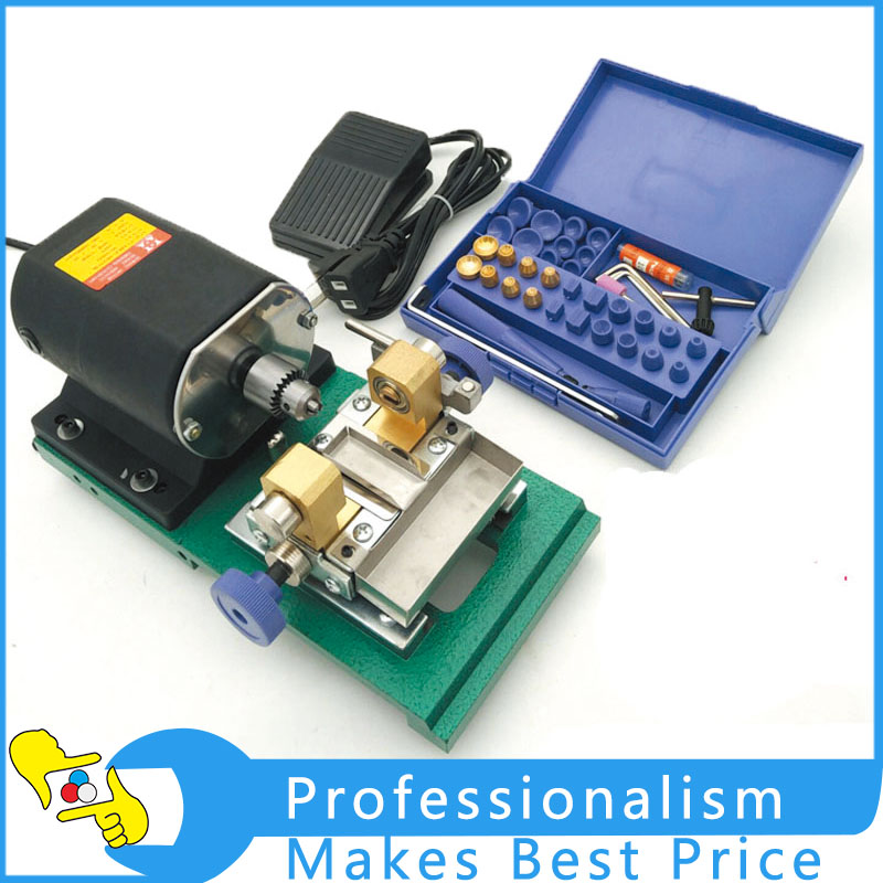 1 Set Pearl Drilling Holing Machine Pearl Driller Jewelry Drill Tools 220v mini electric drilling machine variable speed micro drill press grinder pearl drilling diy jewelry drill machines