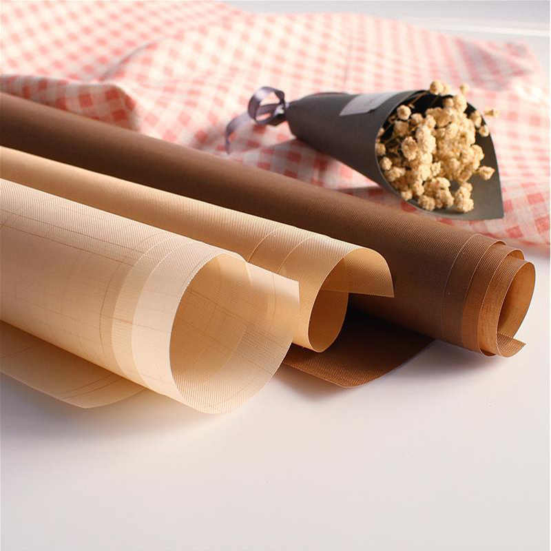 Teflon Warmte Pers Pad Herbruikbare Bakken Mat Non Stick Craft Sheet Hittebestendige Gemakkelijk Te Schoon Bbq Grill & Bakken matten Macarons