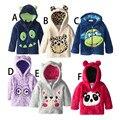 Novo 2015 casaco de inverno do revestimento das crianças do bebê roupas infantis meninos outerwear casaco crianças casaco de inverno menino meninas meninos com capuz