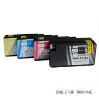 4 Ink Cartridges For HP 950 951 XL Officejet Pro 8100 8600 8630 8640 8610 8620