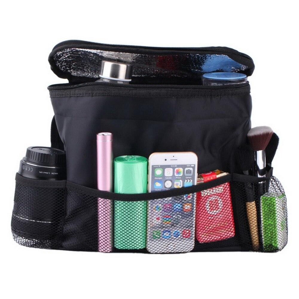 Car Cooler Bag Seat Organizer Multi Pocket Arrangement Bag Back Seat Chair Car Styling car Seat Cover Organiser