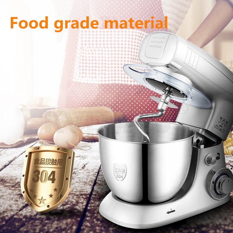 Mélangeur de pâte à pain oeufs mélangeur cuisine alimentaire remuer pétrir Machine à pâte hachoir à viande gâteau beurre crème fabricant cuisinière
