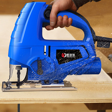 Mini máquina de corte para carpintaria, serra de gabarito elétrica multifuncional alternativa para serra