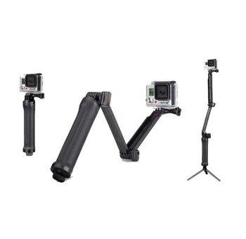 3-way Grip Arm Tripod Monopod 3 Way Selfie Stick Mount for Gopro Hero 7/6/5/4/3/3+/2/1 Xiaomi Xiaoyi SJCAM Sports Camera