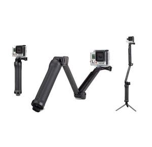 Image 1 - 3 weg Grip Arm Statief Monopod 3 Manier Selfie Stick Mount voor Gopro Hero 7/6/5 /4/3/3 +/2/1 Xiaomi Xiaoyi SJCAM Sport Camera