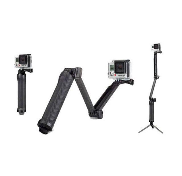 3 weg Grip Arm Statief Monopod 3 Manier Selfie Stick Mount voor Gopro Hero 7/6/5 /4/3/3 +/2/1 Xiaomi Xiaoyi SJCAM Sport Camera
