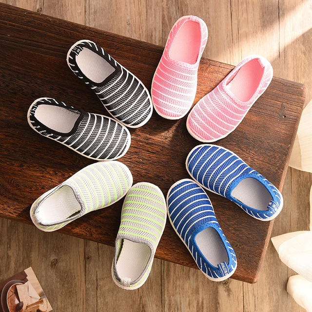 2019 New Summer Fashion Kids Shoes Cut-outs Air Mesh Breathable Shoes For Boys Girls Children Sneakers Baby Boy Girl Sandals 1