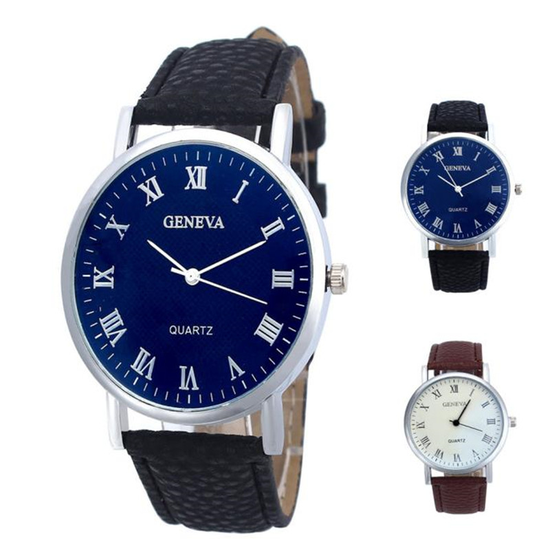 luxury watches men high quality Men Band Analog Quartz Business Wrist Watch curren watches men J.15