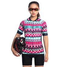 Professional Women Cycling Jersey Set Short Sleeve 2019 Summer Breathable Sunscreen Road Mountain Bike MTB Clothing Sets