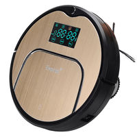 E World New Design Robot Vacuum Cleaner 12 Sets Senser Automatic Auto Robotic Sweeper Floor Cleaning