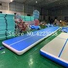 <+>  15x2x0 2 м синий надувной гимнастический матрас тренажерный зал галтовка воздушная дорожка напольная ✔
