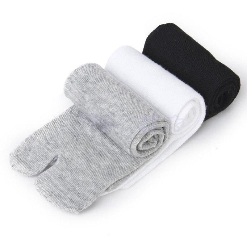 Japanese Kimono Flip Flop Sandal Split Toe Tabi Ninja Geta 3 Pairs Socks