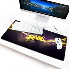 Personalized Gaming Mousepad Wholesale Gamer Speed Mousemat Pads PC Computer Desk Mice keyboard Play Mats Natus Vincere