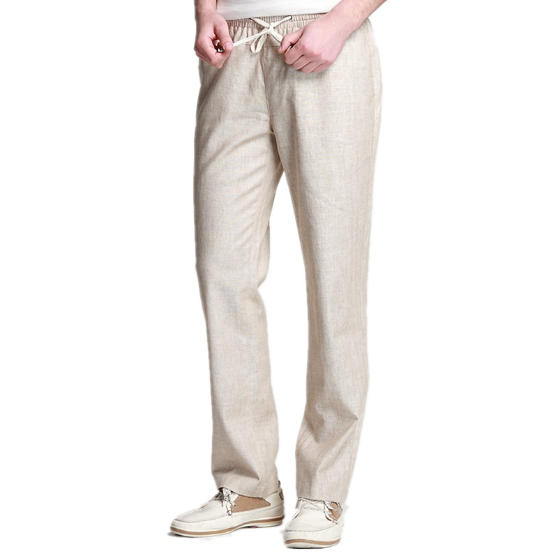 FIELD LIVED Pants Men Casual Joggers Cotton Male Trouser
