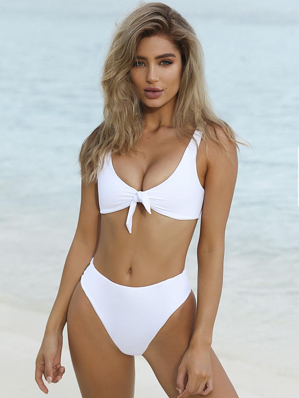 HTB15kfkRVXXXXc2XXXXq6xXFXXXE - Summer sexy Beach Bikini Double wrapped chest Women Beach swimsuit Underwear Bra sets JKP388