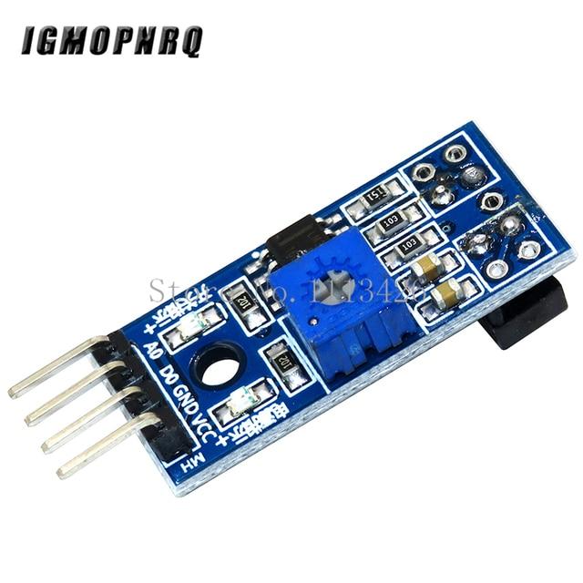 50PCS/LOT TCRT5000 infrared reflectance sensor Obstacle avoidance module tracing sensor tracing module