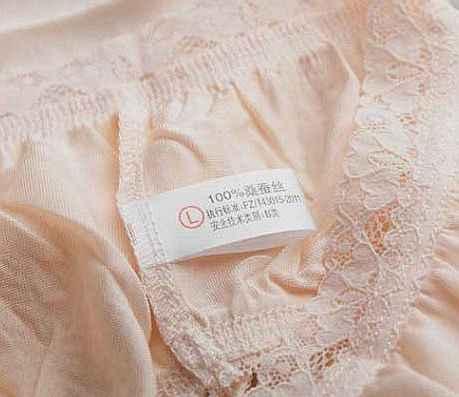 100% femme mûrier soie tricoté soie dans le sous-vêtements en dentelle étroit short taille triangle (grande taille m-XXXL)