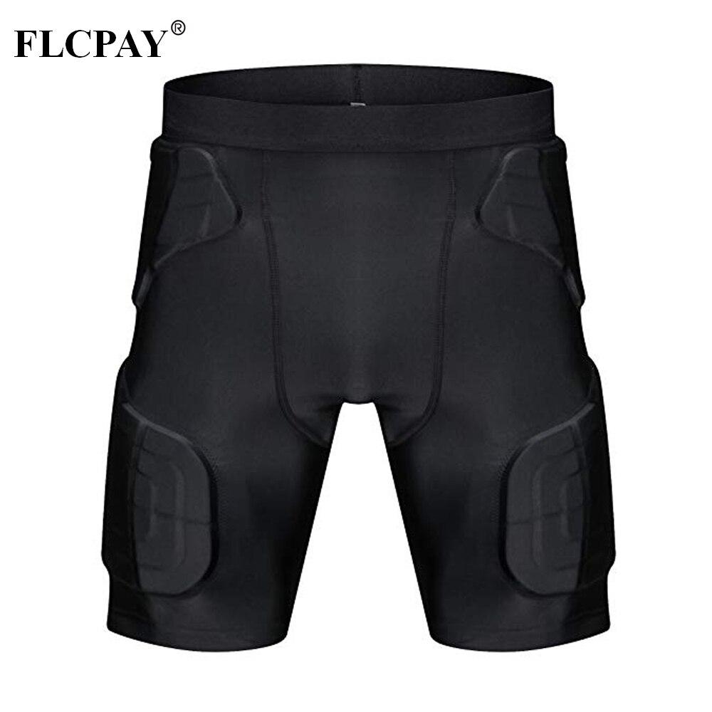 2efb6455 ... Padded Basketball Shorts: Mens Padded Compression Shorts Protection  Undershort Best