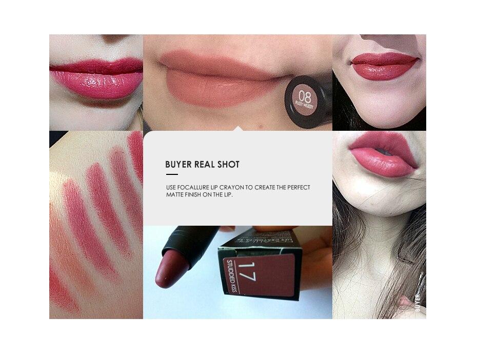 FOCALLURE Matte lipstick (8)