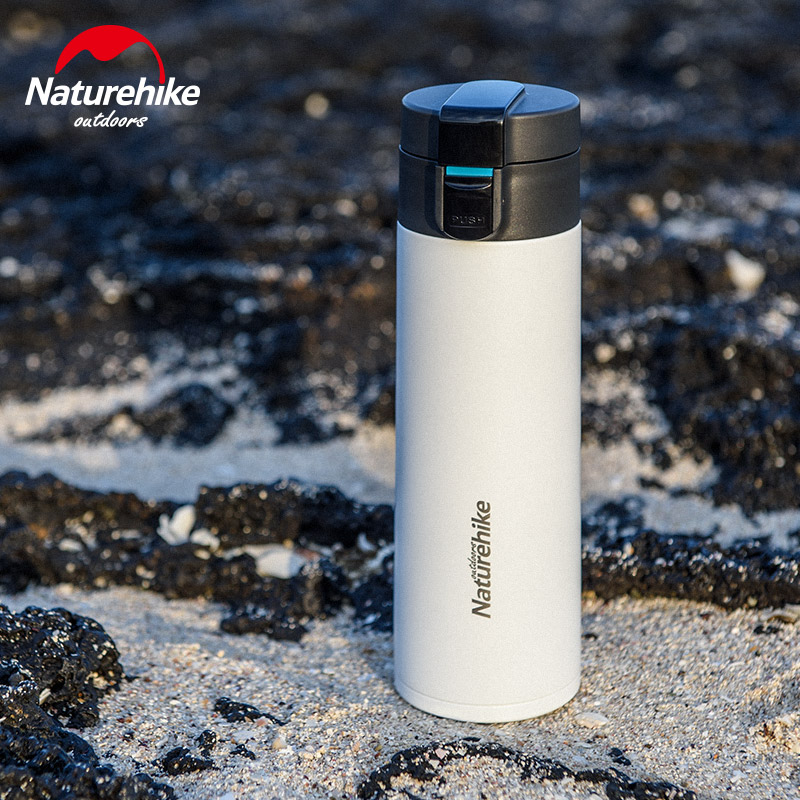 Naturehike Double Wall 316 Stainless Steel Vacuum Flasks 500ml Thermos Cup Coffee Tea Milk Travel Mug Thermo Bottle Thermocup