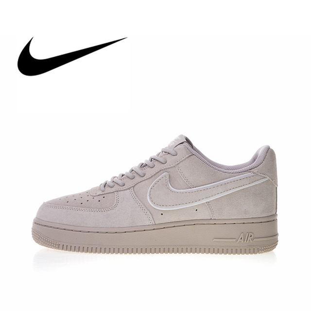 Original Authentic Nike Air Force 1 07 LV8 Suede Men s Skateboarding Shoes  Outdoor Sneakers sport Good Quality 2018 New Arrival 76b8aca9a