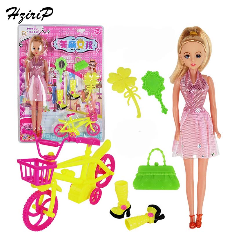 New Fashion Doll Suits High Quality Baby Pretend Play Bicycles Stroller Dolls Accessorie ...
